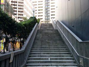 ㈮御嶽神社の階段