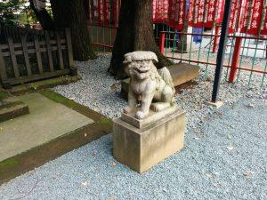 ㈳狛犬(もと香雪神社)