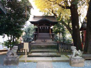 ㈶御嶽神社(金王八幡境内)