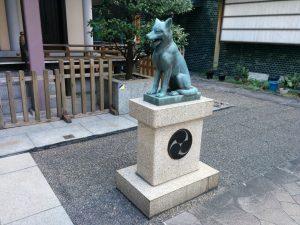 ㈺日本狼の神使像