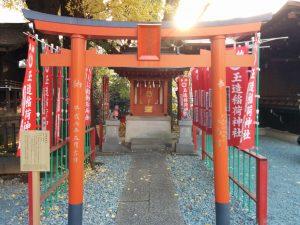 ㈻玉造稲荷神社(金王八幡境内)