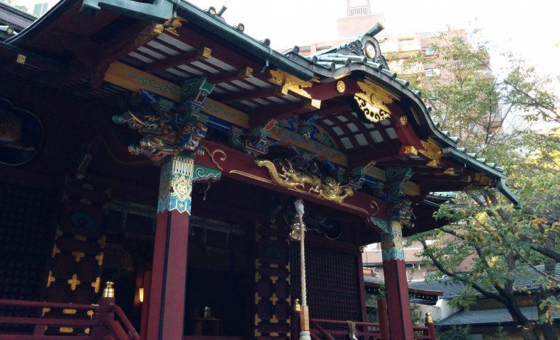 ㉃金王八幡神社の社殿