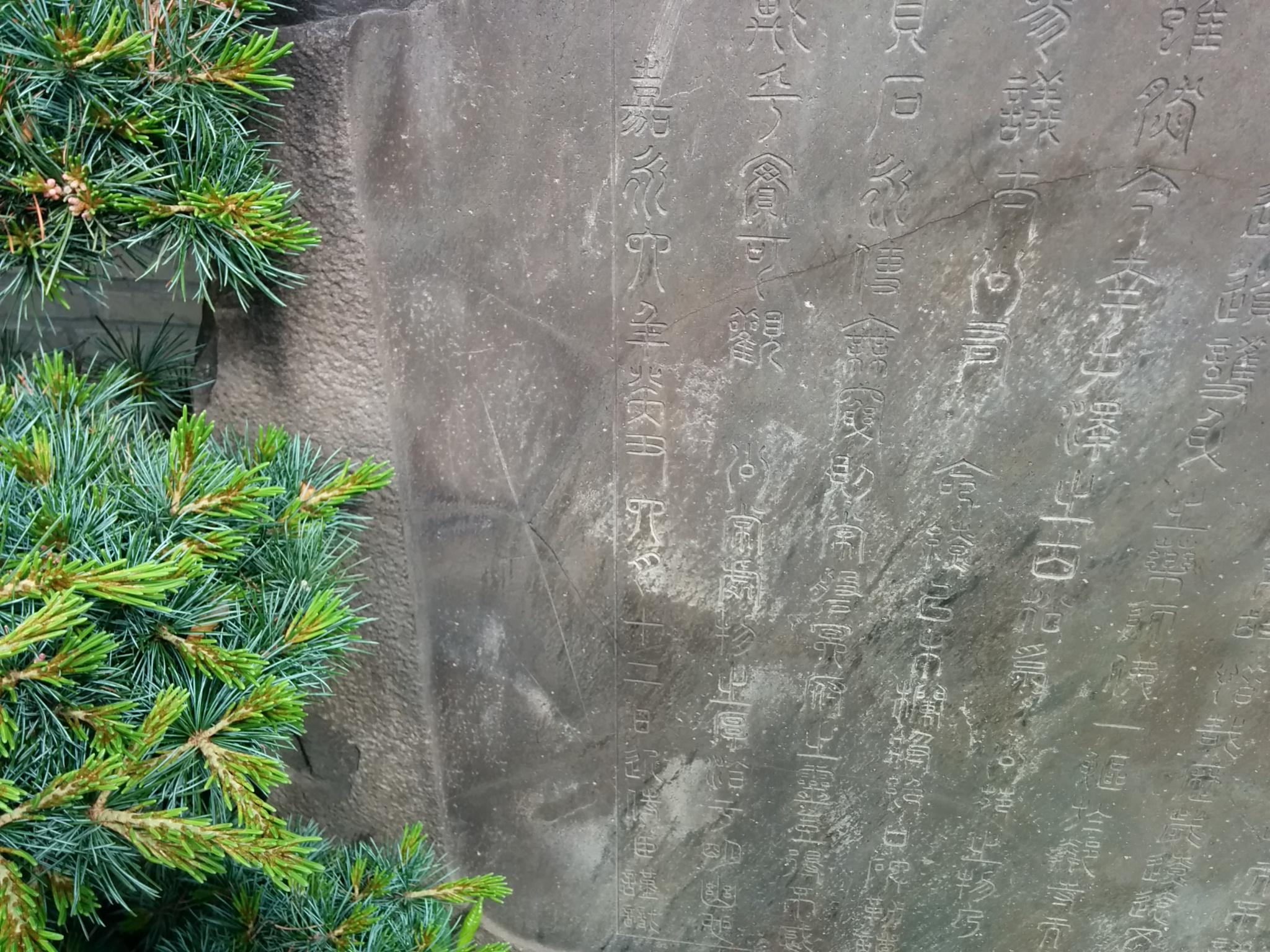 常盤松の碑(嘉永6年6月12日)