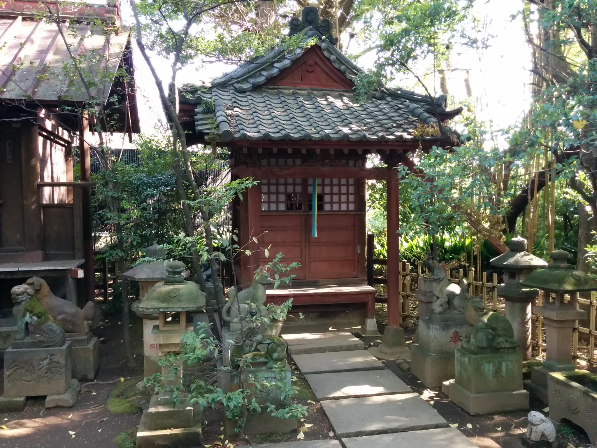 # 渋谷氷川神社その2(境内稲荷社)
