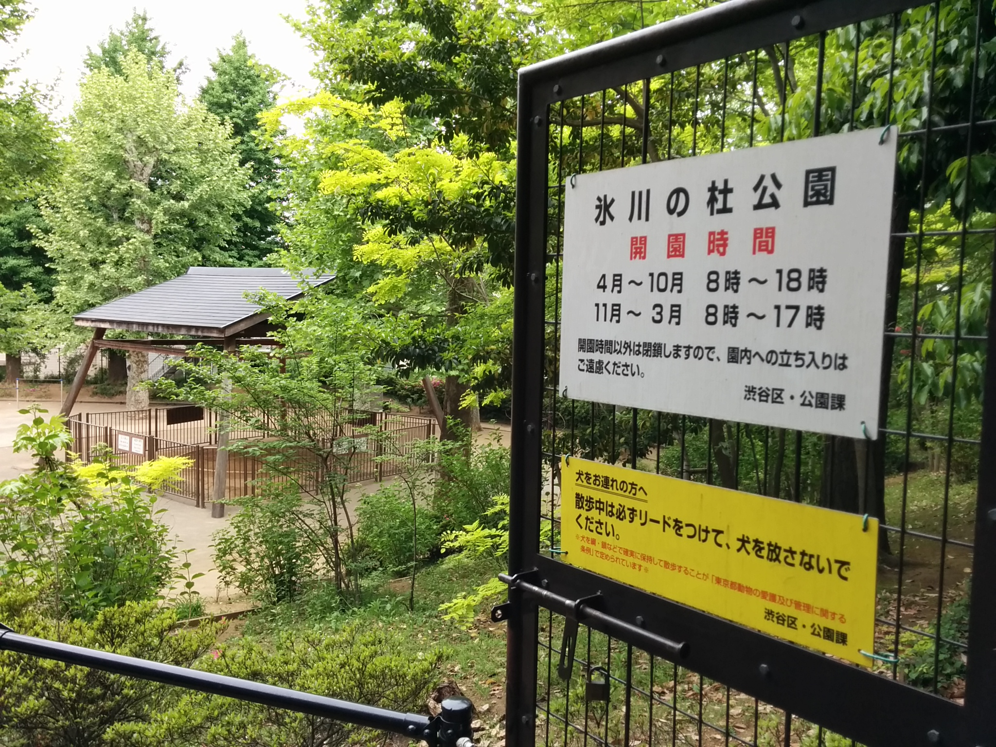 渋谷氷川神社その2(氷川の杜公園案内)