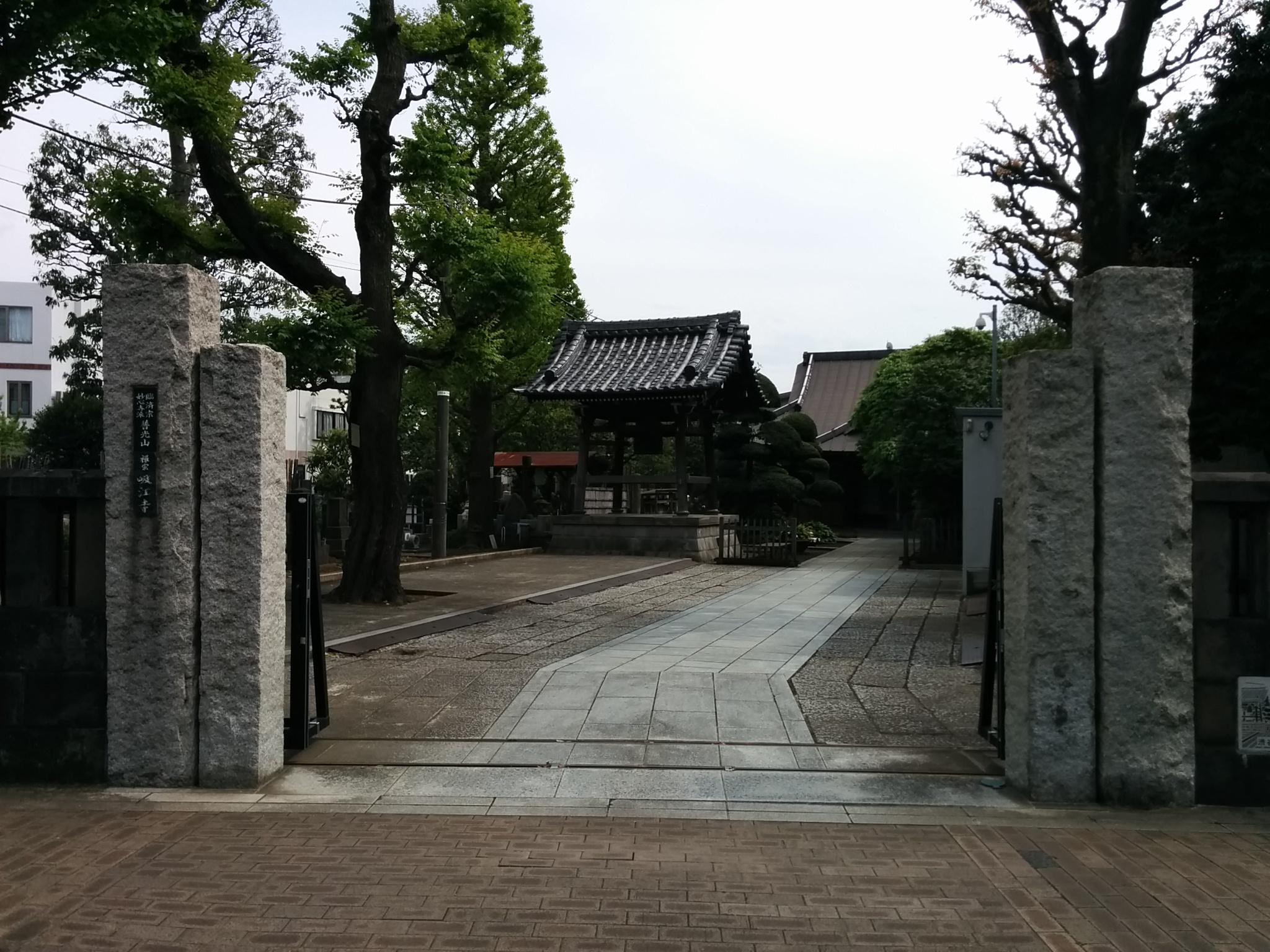 #渋谷氷川神社その2(吸江寺山門と鐘楼)