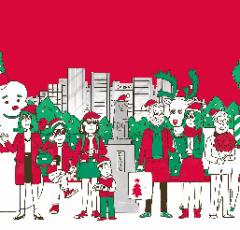 渋谷サンタフェスティバル(ポスター)